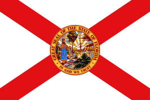 Florida, The Southeasternmost U.S. State of Amerika
